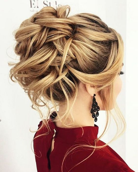 10 Updos for Medium Length Hair from Top Salon Stylis