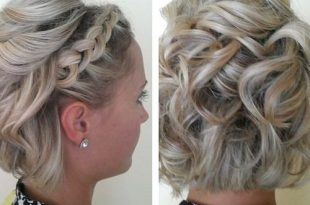 60 Gorgeous Updos for Short Hair That Look Totally Stunni