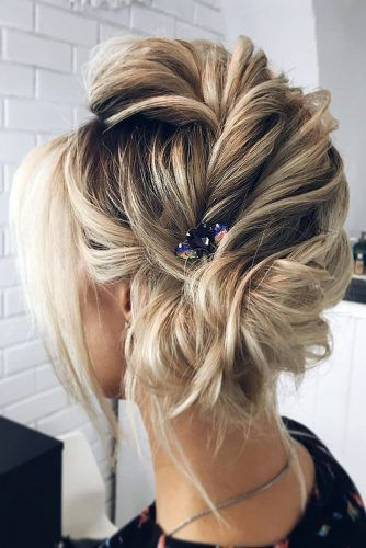 Inspiration For Wedding Updos For Short Hair Length | Short hair .