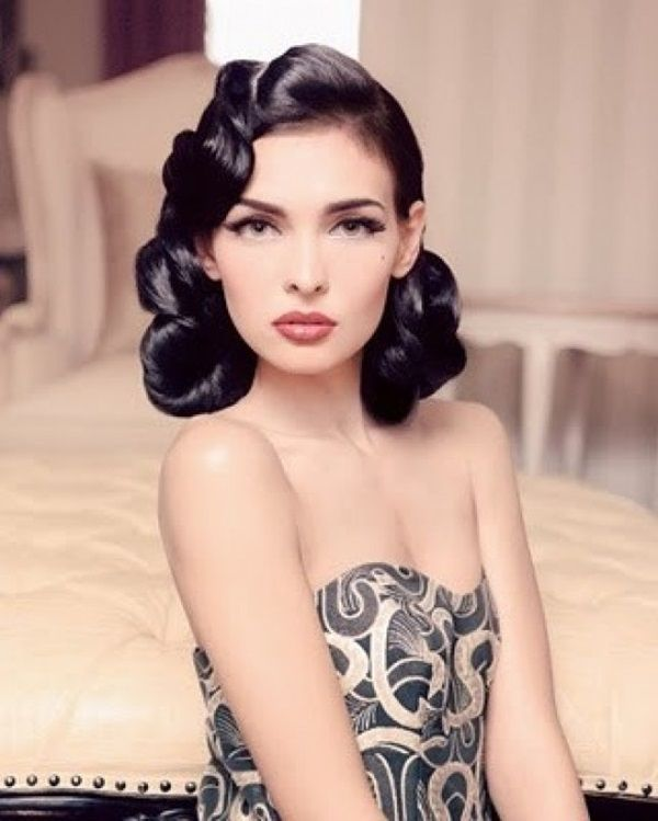 40 Beautiful Retro Hairstyles For Long And Short Hair - Fashion .