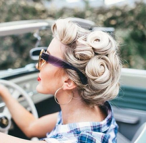 30 Iconic Retro and Vintage Hairstyl