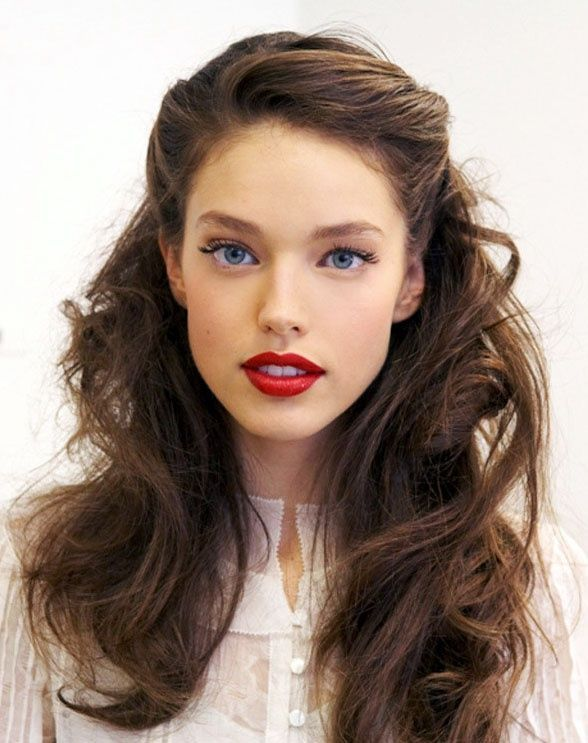 Vintage Long Curls for the Season