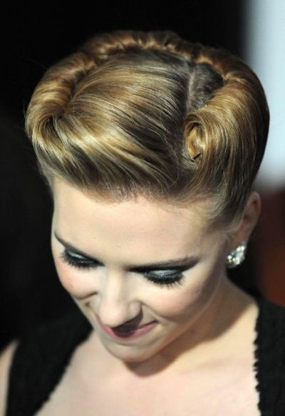 Vintage Updo for Every Girl