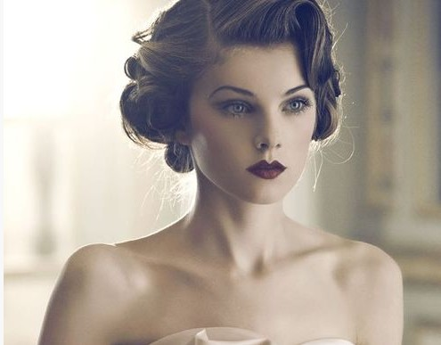 4 Glamorous Vintage Wedding Hairstyles - Pretty Desig
