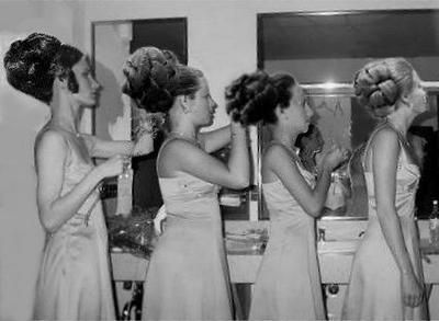 Cool, great photo, looks like prom night, gosh every girl had an .