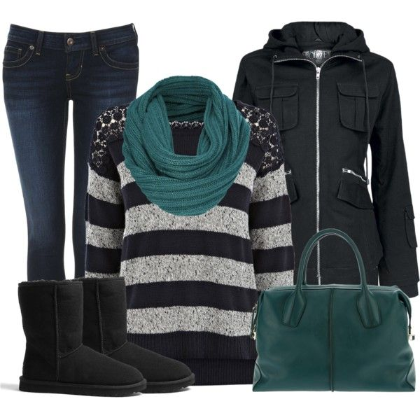30 Warm And Cozy Polyvore Combinations For The Wint