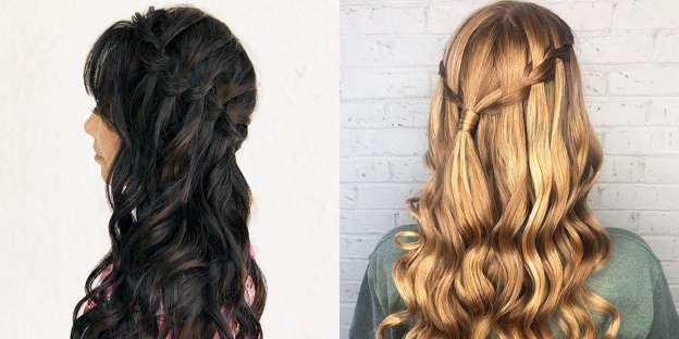 The 4 Easiest Waterfall Braid Tutorials You'll Ever Wat
