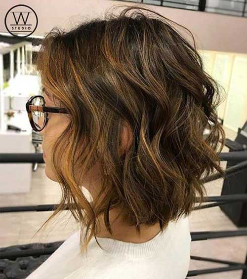 15 Best Short Wavy Bob Haircuts | Short-Haircut.c
