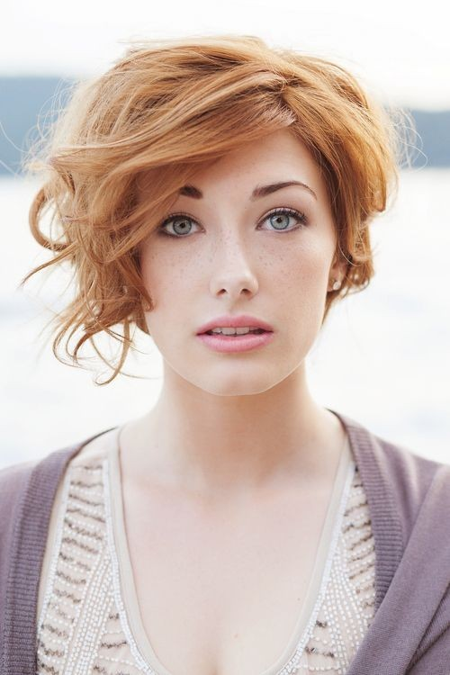 Short Wavy Hairstyles for Fall Winter - PoPular Haircu