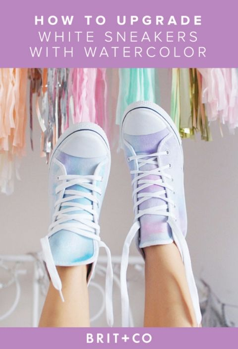 Fun ways to decorate your sneakers! | Shoe makeover, Diy converse .