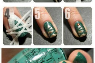 12 Ways to Make Colorful Nails With Scotch Tape - Very Clever DIY .