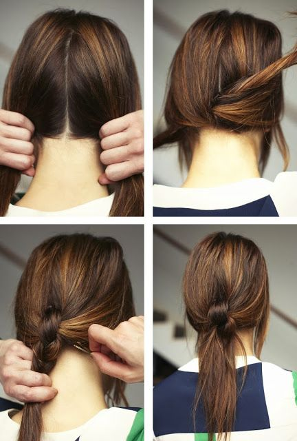 15 Different Ways to Make Cute Ponytails | Ponytail hairstyles .