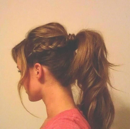 A cute way to spice up your ponytail! Get the look with haircare .