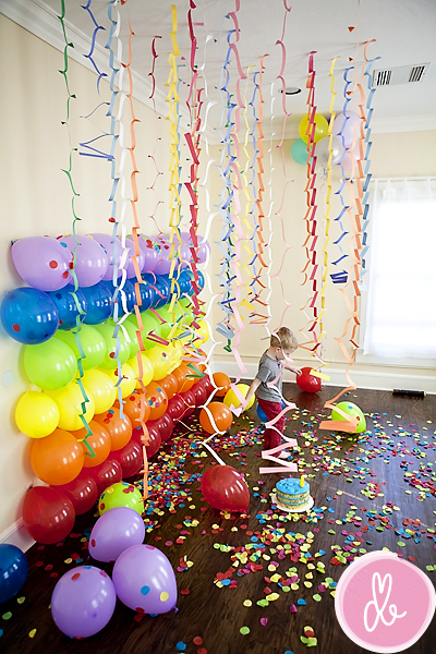 Creative Ways to use Balloons for Kids Parties - Design Dazz