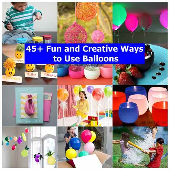 Ways to Use Balloons