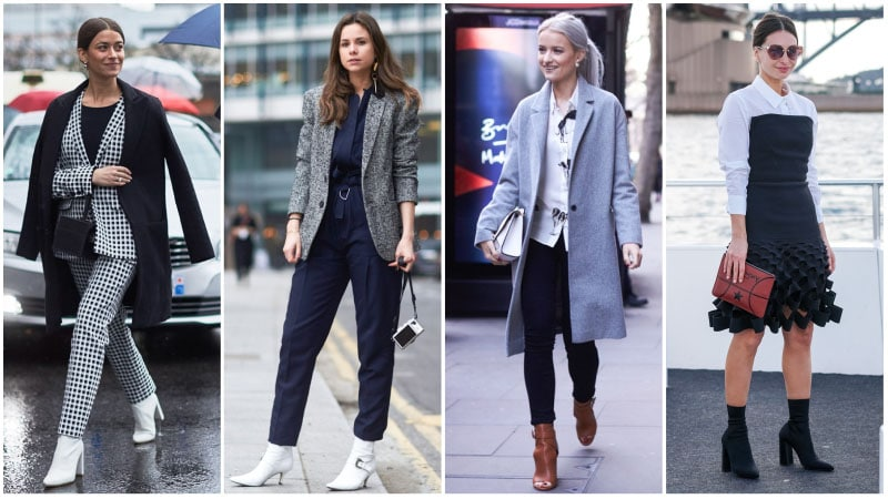 Ways to Wear Ankle Boots for the Season