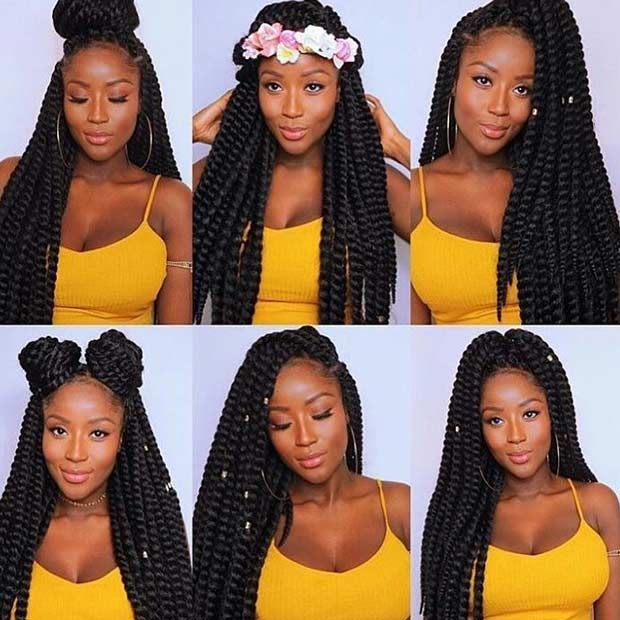31 Stunning Crochet Twist Hairstyles | Crochet twist hairstyles .