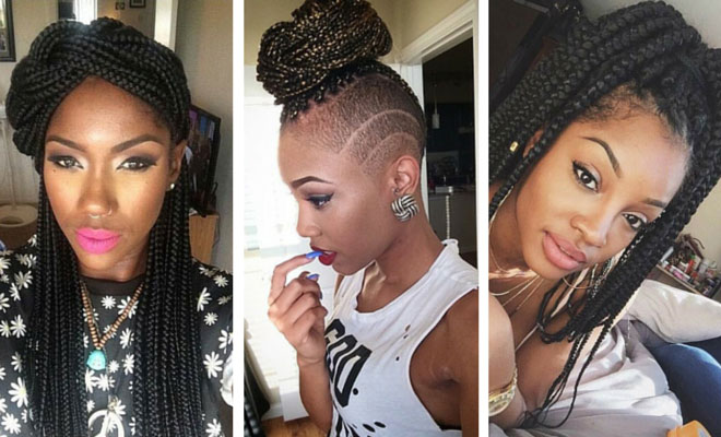 70 Box Braids Hairstyles That Turn Heads | StayGl