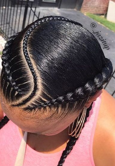 5 Ways to Wear the Two Braid Cornrow Style Everyone's Rocking .