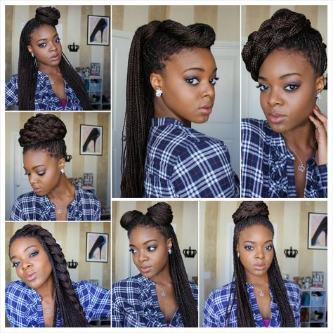 Ways to Wear Braided Hairstyles