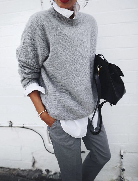 15 Ways To Wear A Sweater To Work This Fall - Styleohol