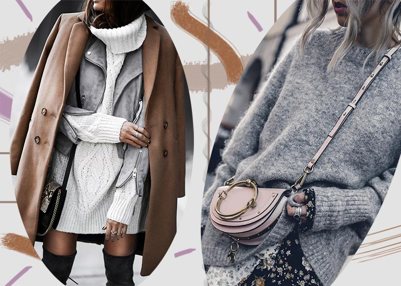 How to Wear a Sweater Dress: 13 Cool Knit Dresses for 20