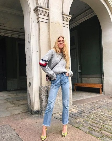 The 12 Best Gray Sweater Outfits | Who What We