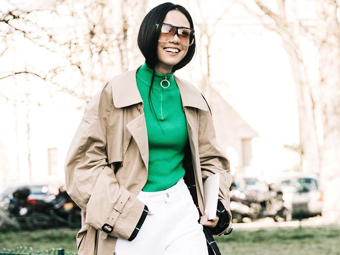 11 Fresh Trench Coat Outfits to Try This Season | Who What We