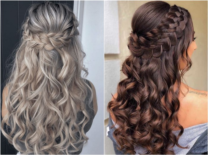 18 Braided Wedding Hairstyles for Long Hair | Oh The Wedding Day .