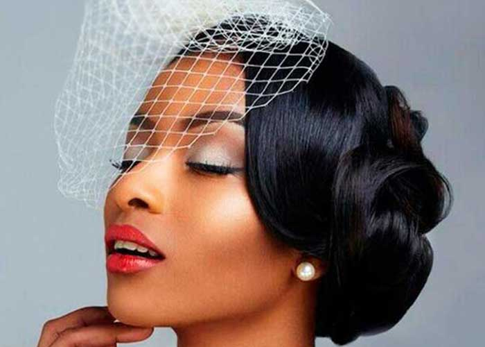 43 Black Wedding Hairstyles For Black Women in 20