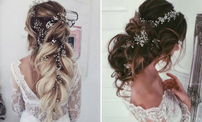 23 Romantic Wedding Hairstyles for Long Hair | StayGl