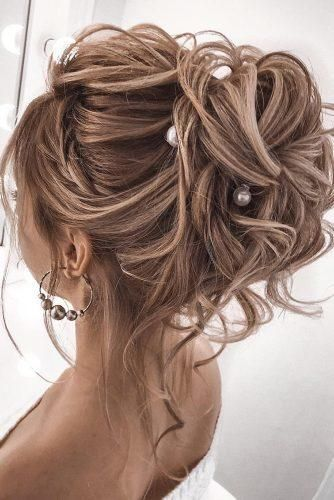 39 Wedding Hairstyles For Medium Hair | Wedding hairstyles for .