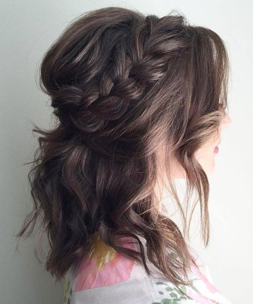 Wedding Hairstyles For Medium Hair to Look Super Gorgeous On Your .