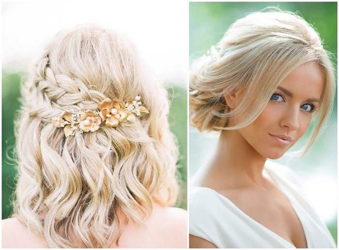 18 Stylish Wedding Hairstyles for Short Ha