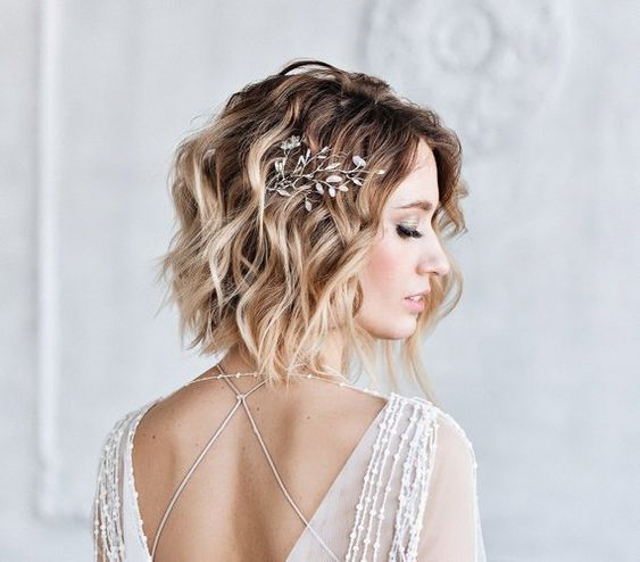 Tips on Choosing Bridal Headpieces for Girls with Short Hair | The .