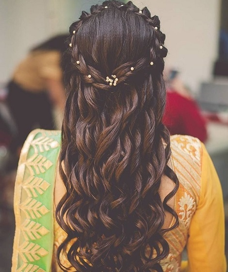 Stylish and easy hairstyle ideas for bridesmaids to try this .