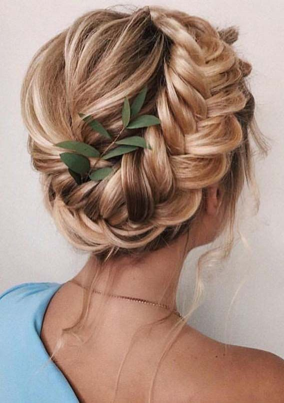 Gorgeous Updo Hairstyles Ideas for Summer Season 2019 | Braided .