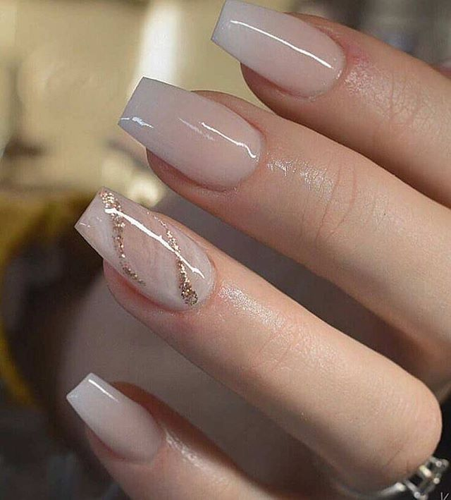 Stunning wedding nail ideas to match a wedding dress - Fab Wedding .