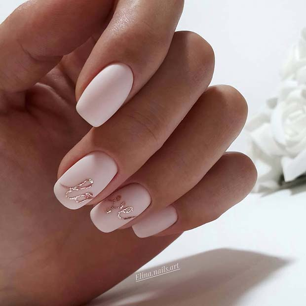 43 Pretty Wedding Nail Ideas for Brides-to-Be | StayGl