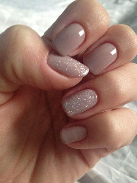 30 Gorgeous Winter Wedding Nails Ideas | Chic nails, Nails, Gel .
