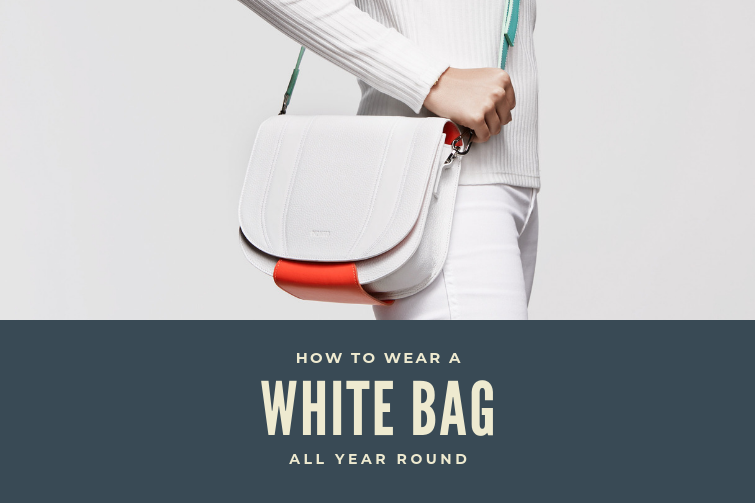 How to Wear a White Bag All Year Round