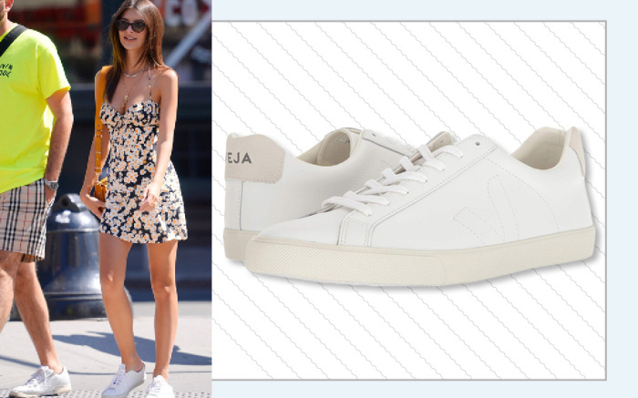 Best White Sneakers to Style with Dresses for Spring 2019 .