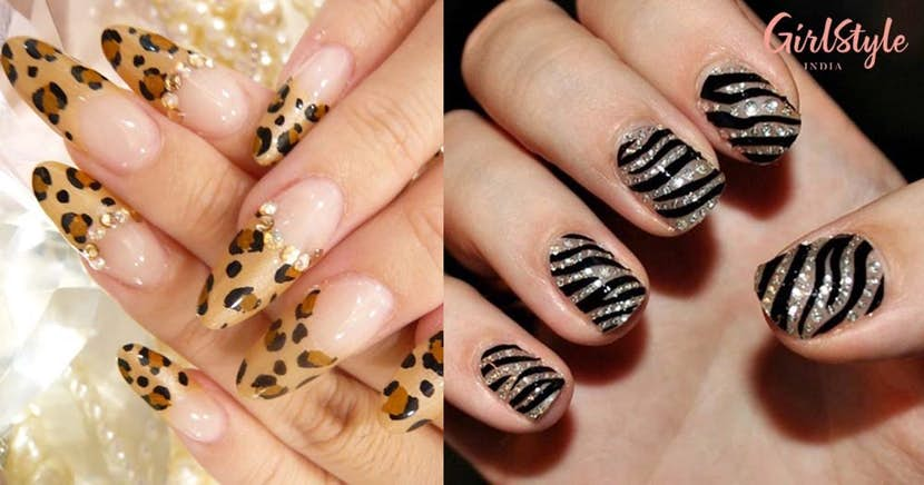 Here Are 20 Stylish Animal Print Nail Art Designs To Express Your .