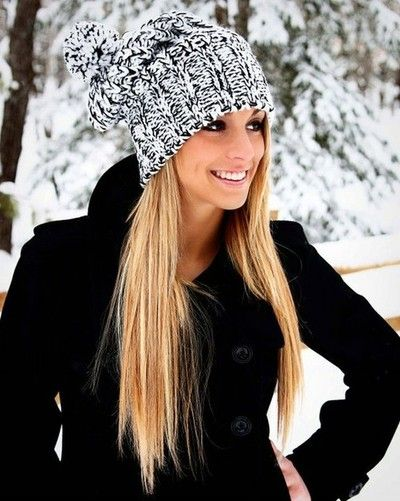 20 Winter Hair Looks with Hats You Must Adore | Style, Fashi