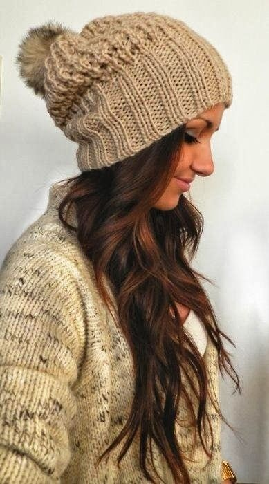 20 Winter Hair Looks with Hats You Must Adore - Pretty Desig