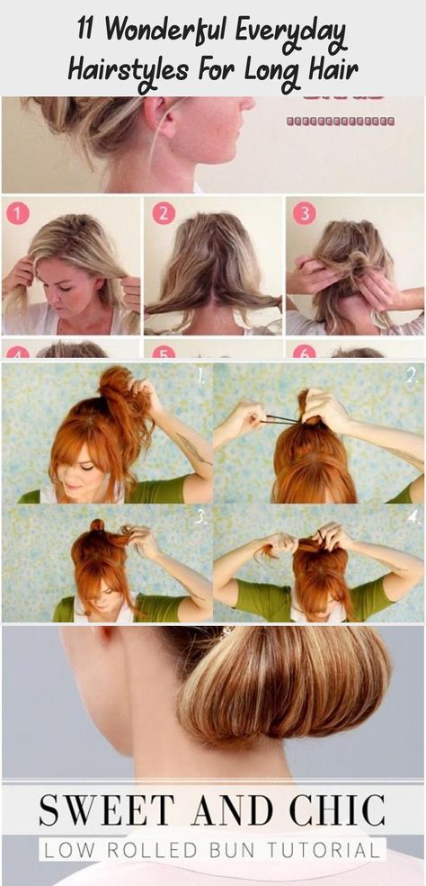 11 Wonderful Everyday Hairstyles For Long Hair | Everyday .