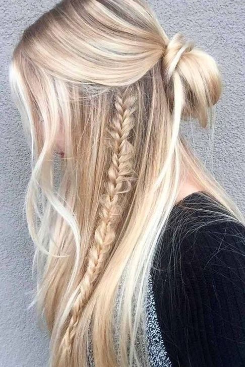 50 Wonderful Everyday Hairstyle Ideas, #Everyday #Hairstyle #ideas .