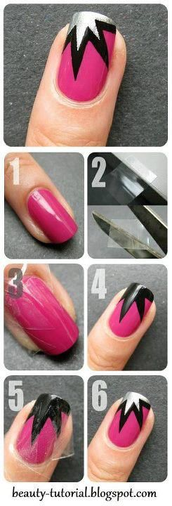 12 Wonderful Nail Art Tutorials for All Ages | Nails | Simple nail .