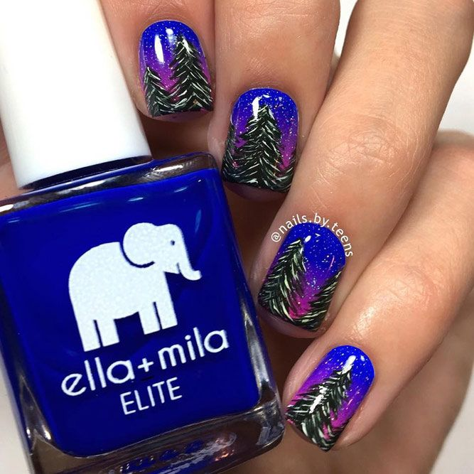 Wonderful Holiday Nails You Have to Try This Season ☆ See more .