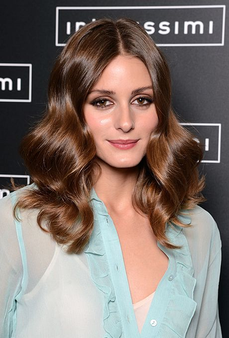 Beauty | Olivia palermo hair, Chestnut hair, Wavy ha